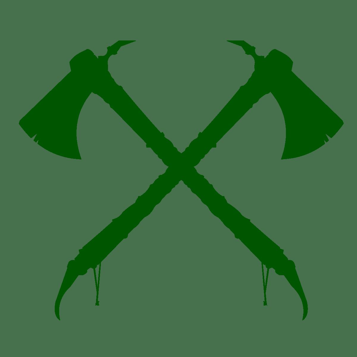 Darker Crossed HatchetsArtboard 2@4x